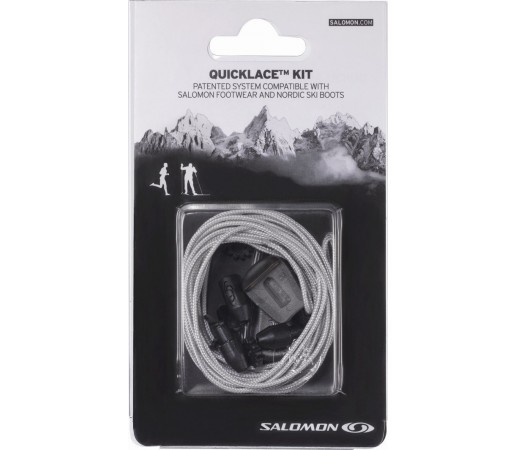 Sireturi Salomon Quicklace Kit M Gri