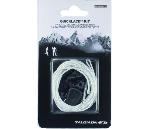 Sireturi Salomon Quicklace Kit M Albe