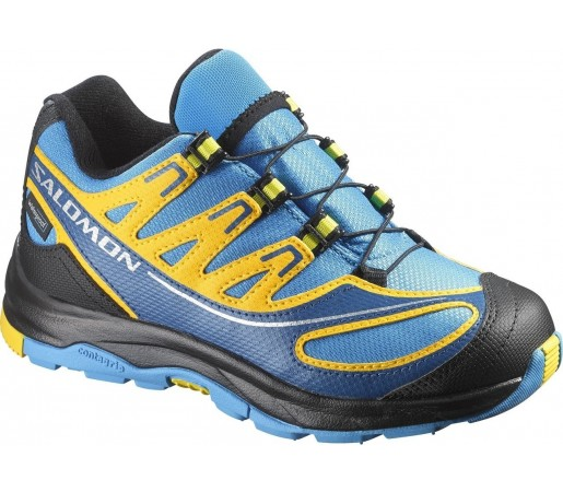 Incaltaminte de alergare Salomon XA Pro 2 K Galben/Albastru/Negru