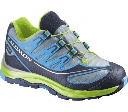 Incaltaminte de alergare Salomon XA Pro 2 K Verde/Albastru/Gri