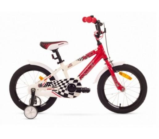 Bicicleta copii Romet Salto P 16 Alb/Rosu 2016