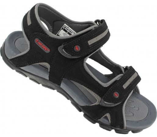 Sandale Hi Tec Owaka Black- Grey- Red