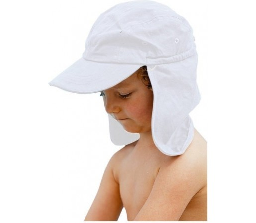 Sapca pentru copii Fashy Legionnaire Alba