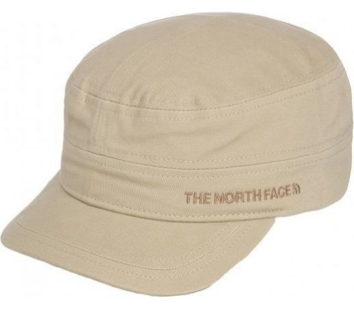 Sapca The North Face Logo MIlitary Beige