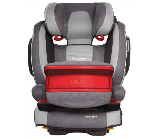 Scaun auto copii cu Isofix Recaro Monza Nova IS Gri Asphalt