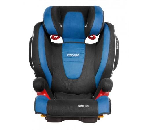 Scaun auto copii fara Isofix Recaro Monza Nova 2 Albastru