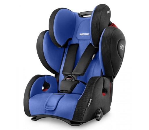 Scaun auto copii fara Isofix Recaro Young Sport Hero Albastru