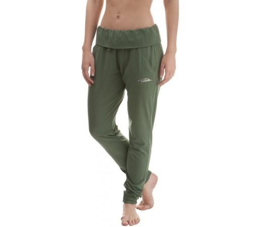 Pantaloni Nordblanc Serene Ladie's Dryfor Yoga Verde
