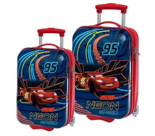 Set trolere abs Disney Cars Neon