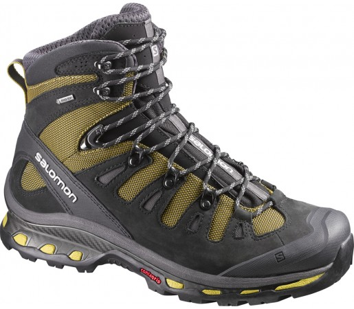 Incaltaminte hiking Salomon Quest 4D 2 GTX Galben/Negru/Gri