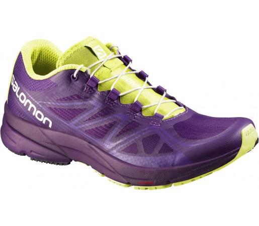 Incaltaminte alergare Salomon Sonic Pro W Violet/Verde