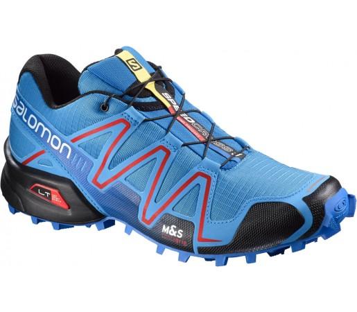Incaltaminte alergare Salomon Speedcross 3 Albastru/Rosu