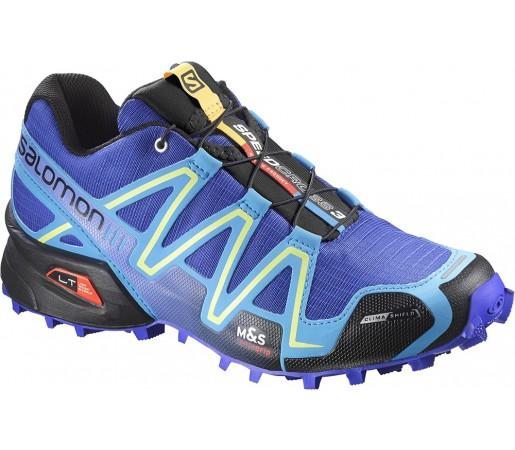 Incaltaminte alergare Salomon Speedcross 3 CS W Violet/Albastru/Negru
