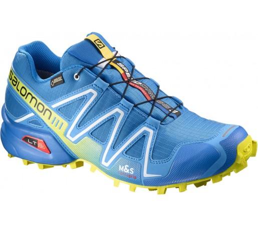 Incaltaminte alergare Salomon Speedcross 3 GTX Albastru/Verde