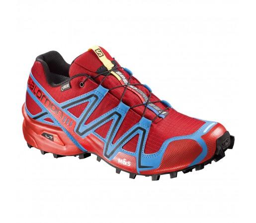Incaltaminte alergare Salomon Speedcross 3 GTX Rosu/Albastru/Negru