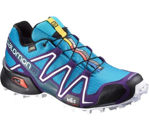 Incaltaminte alergare Salomon Speedcross 3 GTX W Albastru/Violet