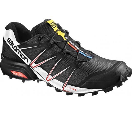 Incaltaminte alergare Salomon Speedcross Pro Negru/Alb/Rosu