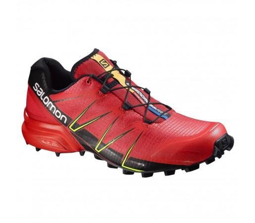 Incaltaminte alergare Salomon Speedcross Pro Rosu/Negru