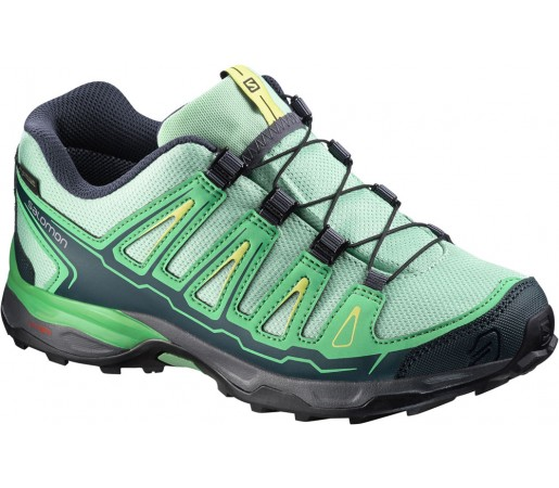 Incaltaminte hiking Salomon X-Ultra GTX J Verde/Negru