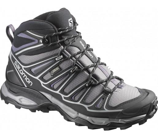 Incaltaminte hiking Salomon X Ultra Mid 2 GTX W Violet/Negru/Gri