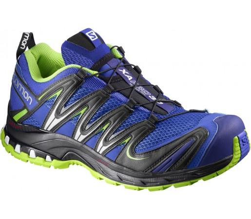 Incaltaminte alergare Salomon XA Pro 3D Negru/Albastru/Verde
