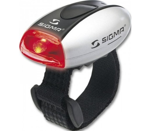 Stop Sigma Micro Led Red Argintiu