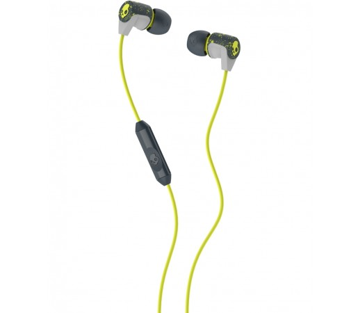 Casti audio Skullcandy Riff Gri/ Lime