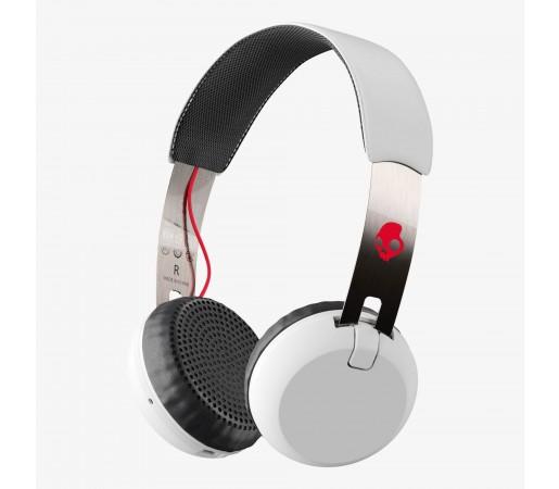 Casti audio Skullcandy Grind Bt Wireless Albe