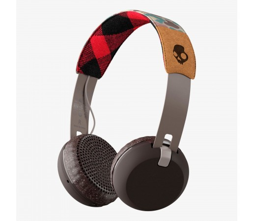 Casti audio Skullcandy Grind Bt Wireless Maro