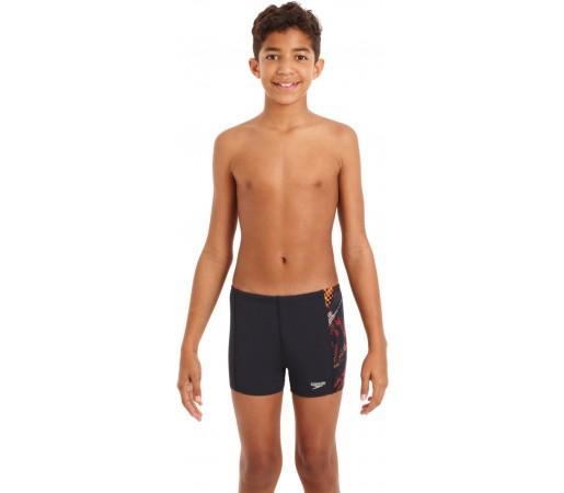 Slipi Speedo Boy Hydroturn Update Bleumarin/Portocaliu