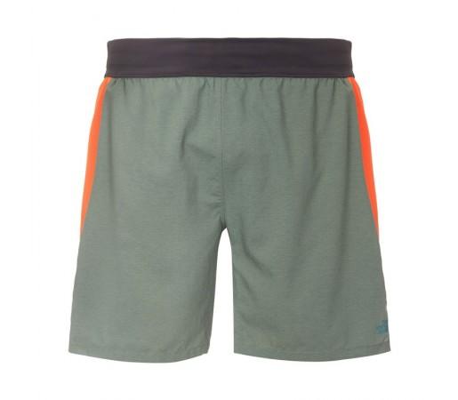 Pantaloni scurti The North Face M BTN Long Haul Verde/Portocaliu