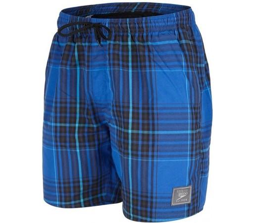 Boardshort Speedo Man Yarn Dyed Check Albastru/Negru