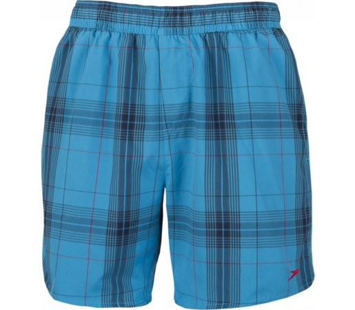 Boardshort Speedo Man Yarn Dyed Check Bleumarin/Albastru