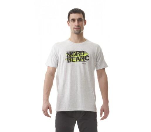 Tricou Nordblanc M Mark Alb