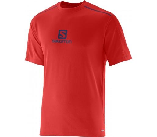 Tricou Salomon Stroll Logo Tee M Rosu