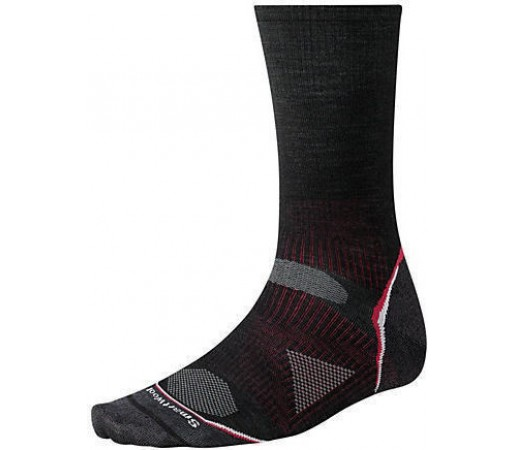 Sosete SmartWool Men's PhD Outdoor Ultra Light Crew Socks Black