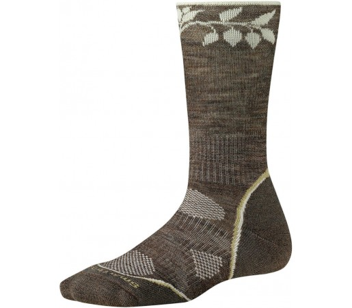Sosete SmartWool PhD Outdoor Light Pattern Crew Socks Brown