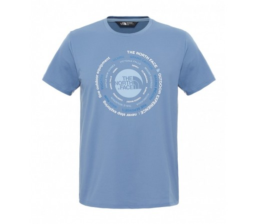 Tricou The North Face M Tehnical Expedition Albastru