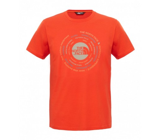 Tricou The North Face M Tehnical Expedition Rosu
