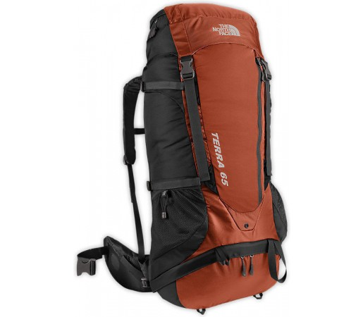 Rucsac The North Face M Terra 65 Portocaliu