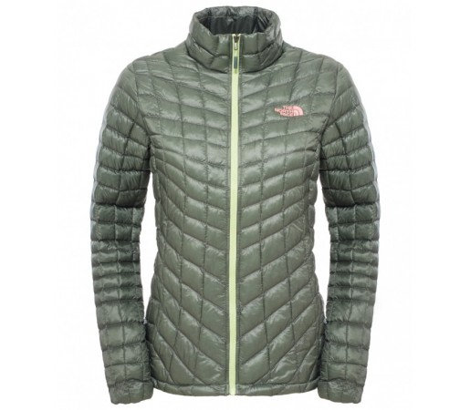 Geaca The North Face W Thermoball Full Zip Verde