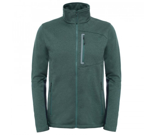 Polar The North Face Canyonlands Full Zip M Verde