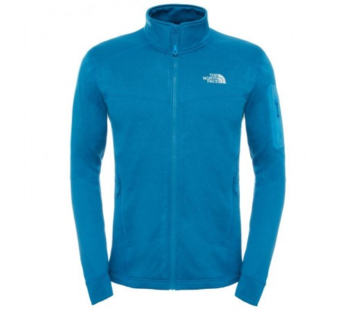 Polar The North Face M Hadoken Full Zip Albastru/Alb