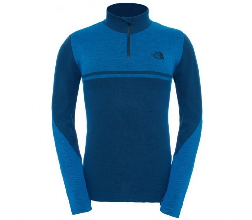 Bluza The North Face M Harpster 1/4 Zip Albastra
