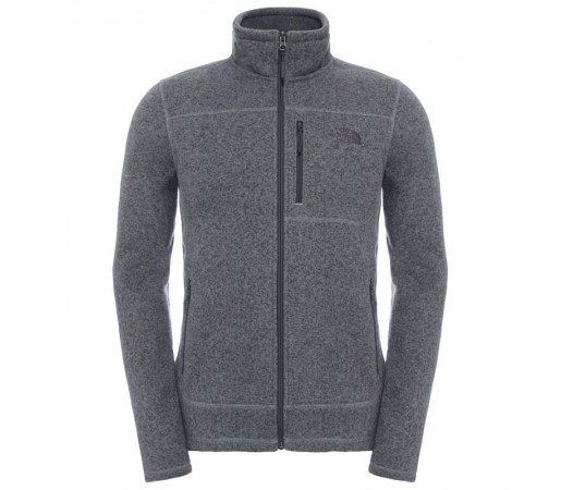 Polar The North Face M Gordon Lyons Full Zip Gri/Negru
