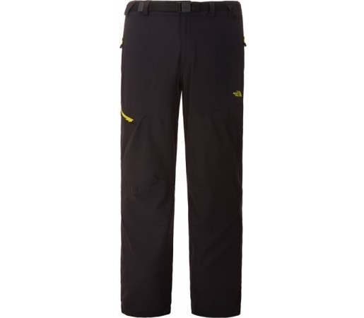 Pantaloni The North Face M Paseo Negru/Galben