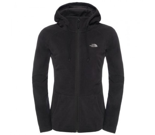 Hanorac The North Face W Mezzaluna Full Zip Negru