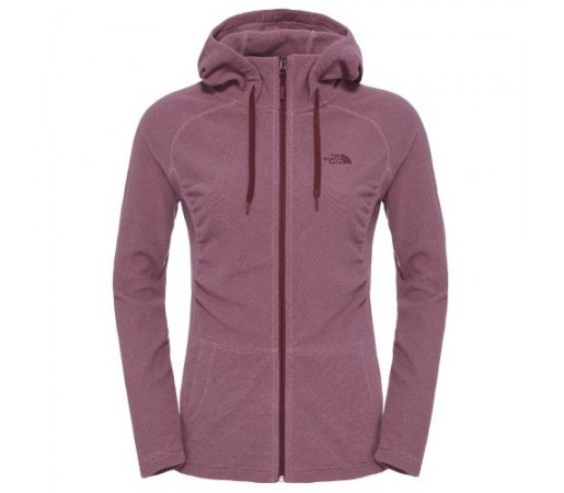 Hanorac The North Face W Mezzaluna Full Zip Roz