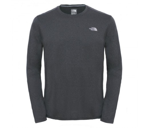 Bluza The North Face M Reaxion Amp L/S Crew Gri