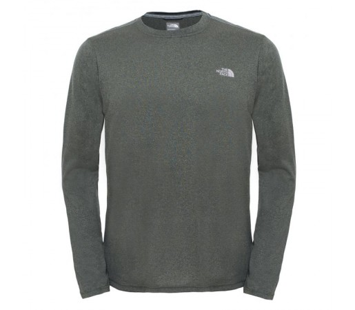 Bluza The North Face M Reaxion Amp L/S Crew Verde